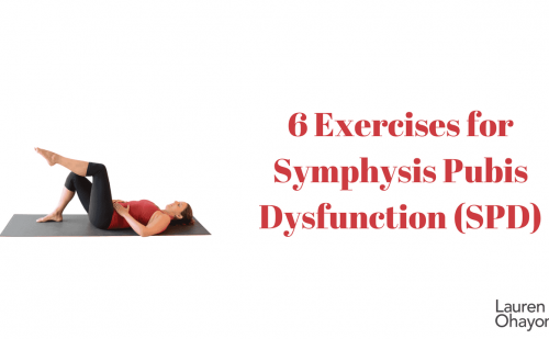 Symphysis Pubix Dysfunction exercises